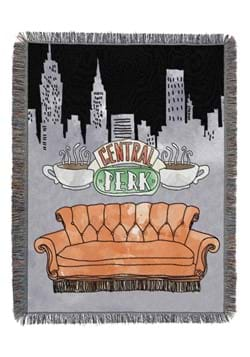 Friends Best City Tapestry Throw