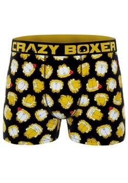 Crazy Boxers Men's Garfield Faces Boxer Briefs