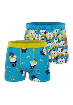 Men's Disney Donald Duck and Scrooge 2 Pack Boxer Briefs