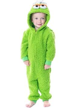 Oscar The Grouch Toddler Union Suit