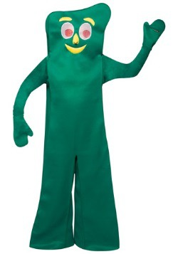 Retro Adult Green Gumby Costume