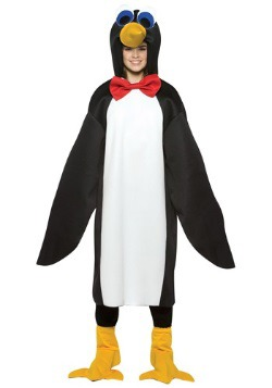 Waddling Teen Penguin Costume
