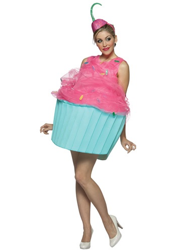 Womens Cutesy Cupcake Costume
