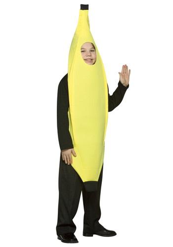 Kids Yellow Banana Costume