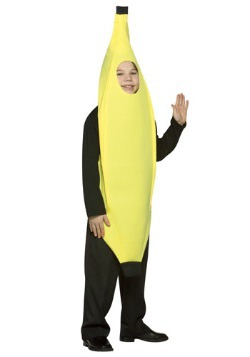 Kids Yellow Banana Costume