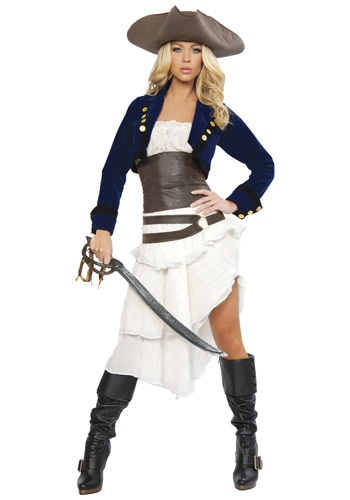 Women's Colonial Pirate Costume
