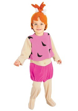 Toddler Pebbles Flintstone Costume
