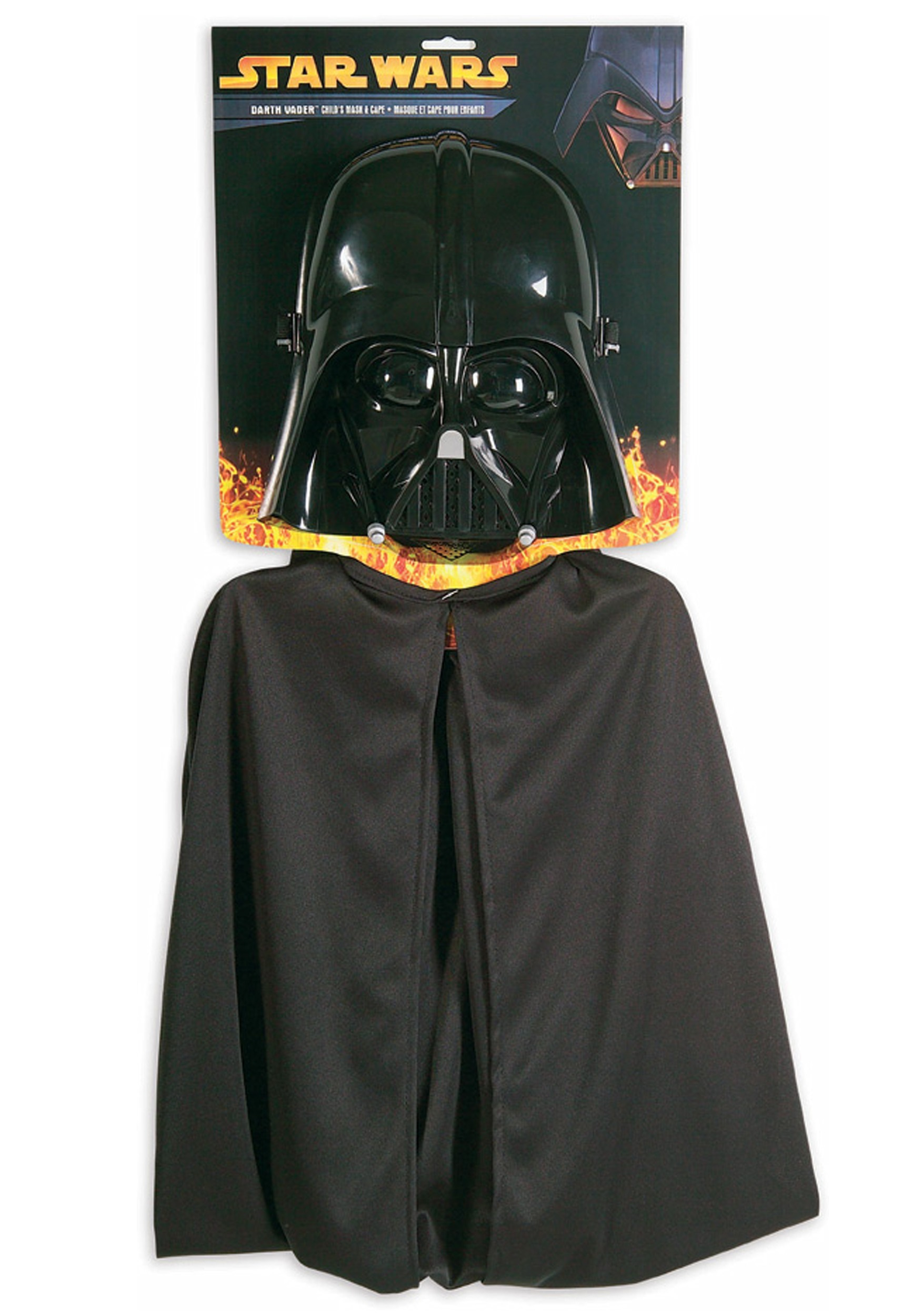 Childs Star Wars Darth Vader Mask Cape Set
