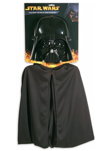 Childs Star Wars Darth Vader Mask & Cape Set RU1198-ST