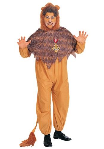 Men's Cowardly Lion Costume