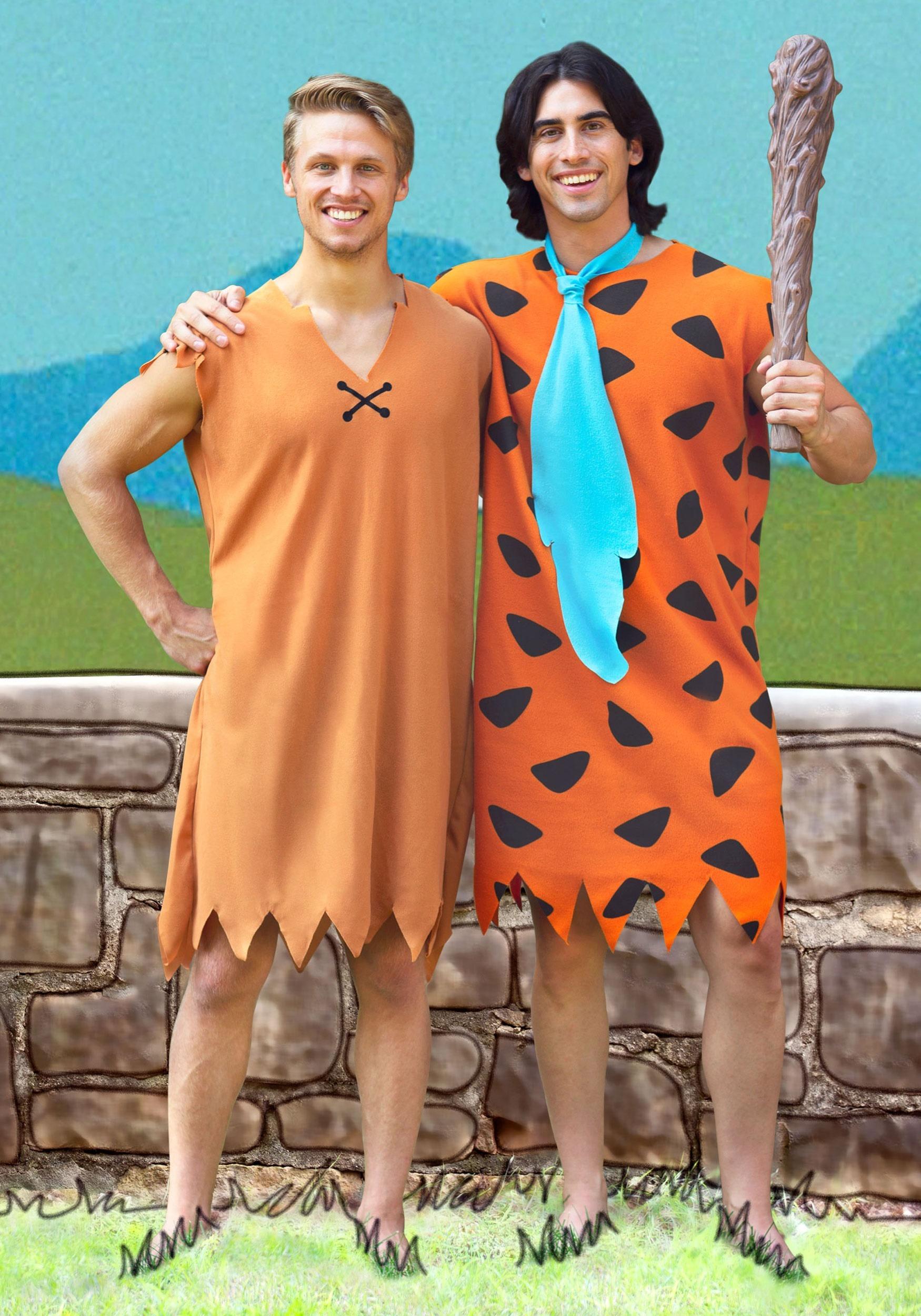 Mens Fred Flintstone The Flintstones TV Cartoon Fancy Dress Costume Outfit