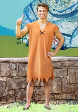 Barney Rubble Men's Costume