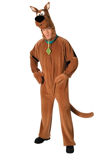 Deluxe Adult Scooby Doo Costume