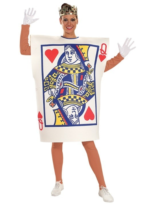 Queen of Hearts Card Adult's Costume