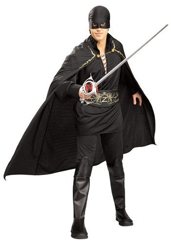 Adult Zorro the Spanish Fox Costume
