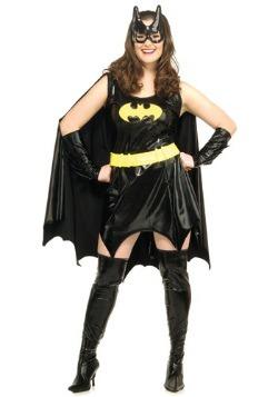 Women's Plus Size Batgirl Costume