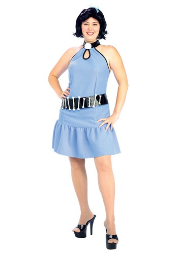 Plus Size Betty Rubble Women's Costume