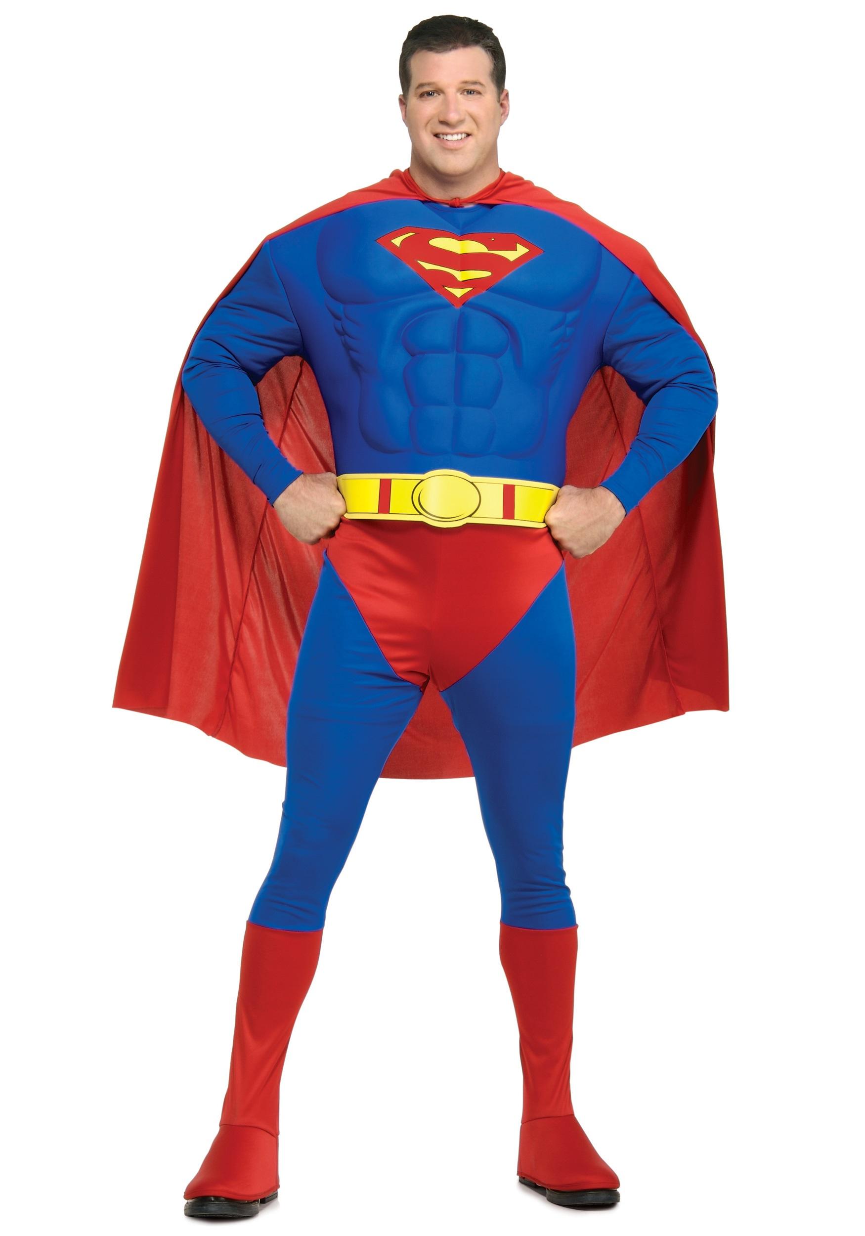 Superman Plus Size Superhero Costume  sc 1 st  Fun.com & Plus Size Superman Superhero Costume