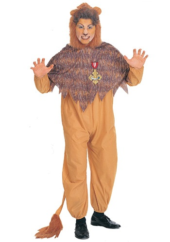 Men's Plus Size Cowardly Lion