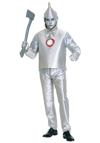 Plus Size Tin Man Wizard of Oz Costume
