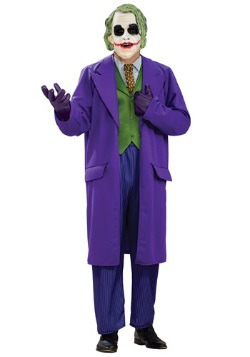 Plus Size Joker Deluxe Costume
