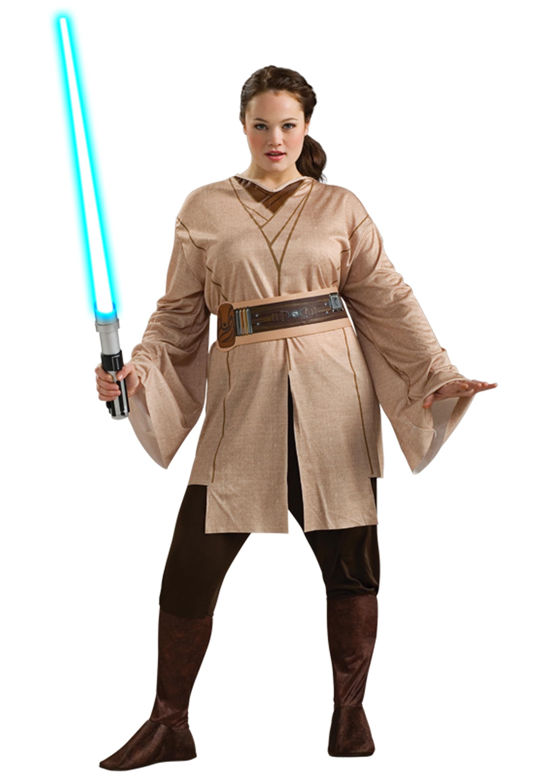 plus size wars jedi costume for