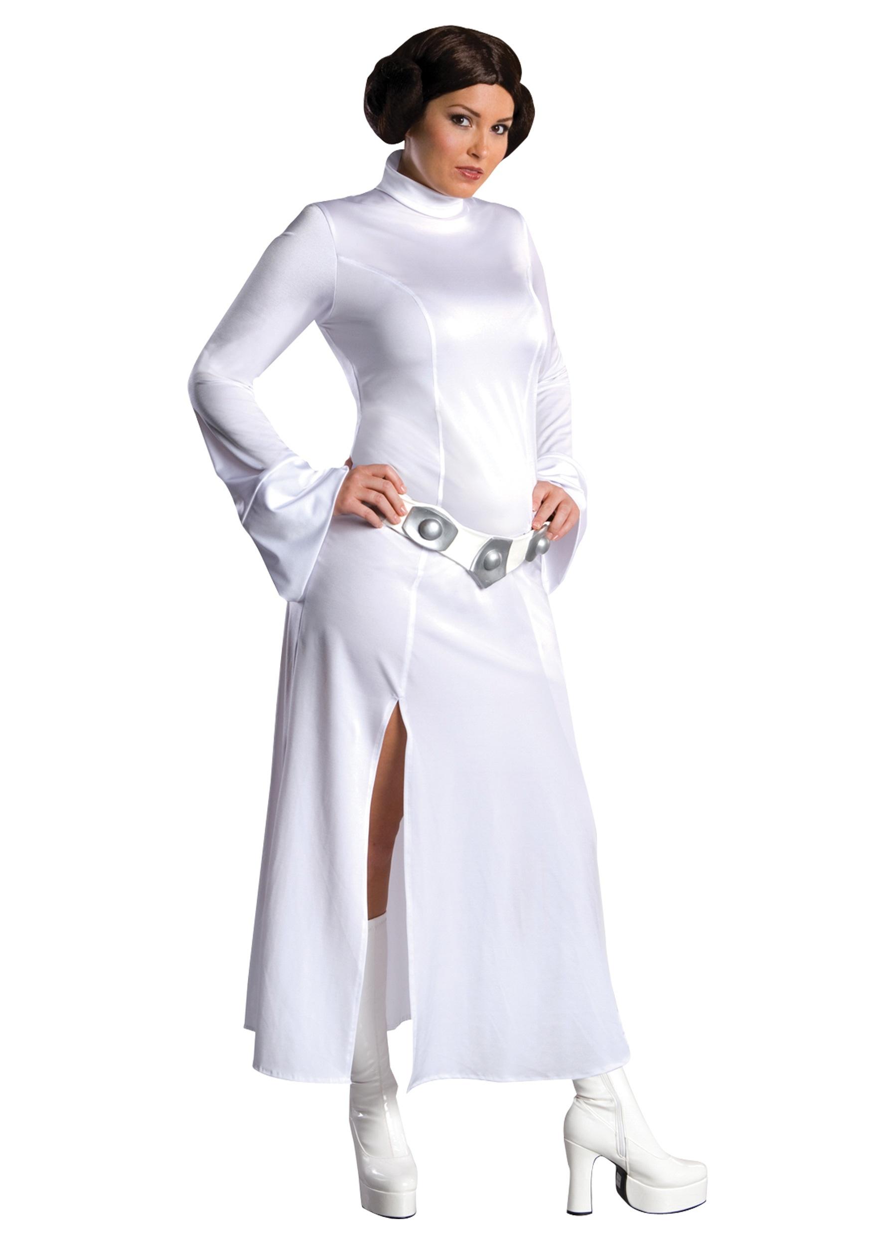 Women's Star Wars Plus Size Princess Leia Costume RU17591