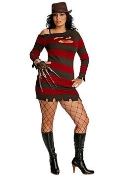 plus size miss krueger costume for women