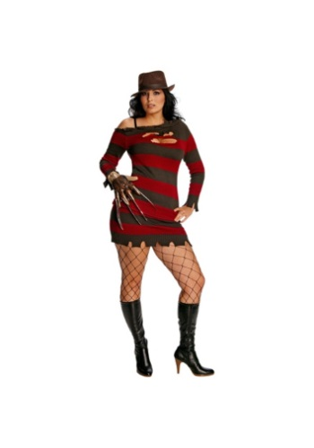 Plus Size Miss Krueger Costume for Women RU17672-PL