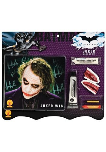 Fun.com - Joker Wig and Makeup Set Photo