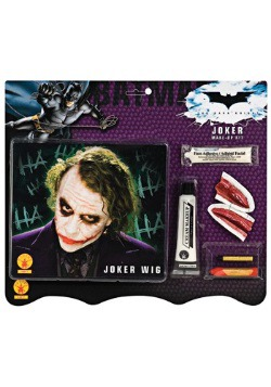 Joker Wig and Makeup Set