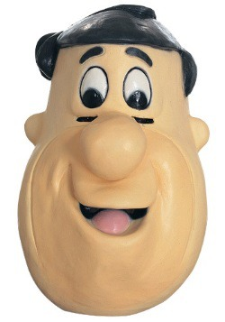 Rubber Fred The Flintstones Mask