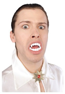 White Vampire Teeth