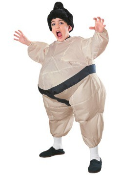 Inflatable Sumo Costume For Kids