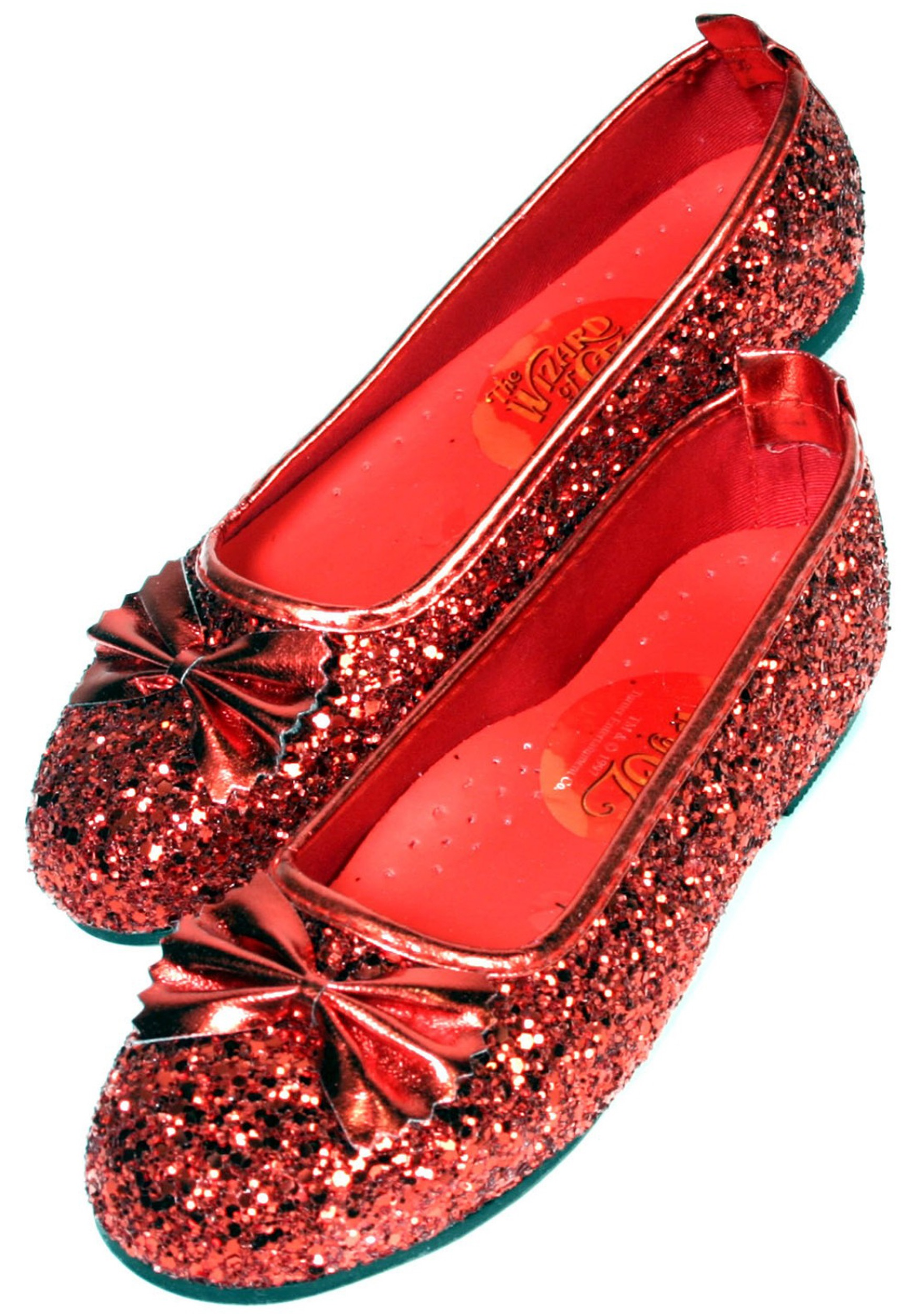 Ruby Costume Slippers Red Shoes for