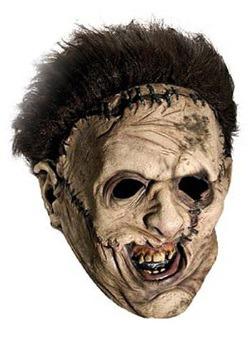 Vinyl Scary Leatherface Mask