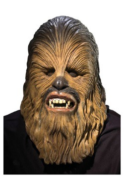 Star Wars Deluxe Latex Chewbacca Mask