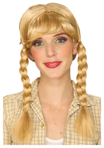Blonde Braided Wig For Women