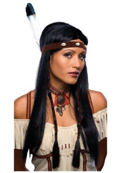 Native American Cutie womens Wig