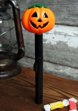 Smiling Jack O' Lantern Halloween Flashlight