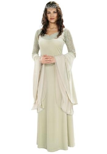 Women's Queen Arwen Deluxe Costume