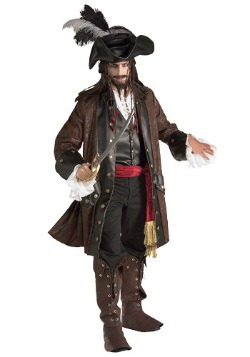 Mens Authentic Caribbean Pirate Costume