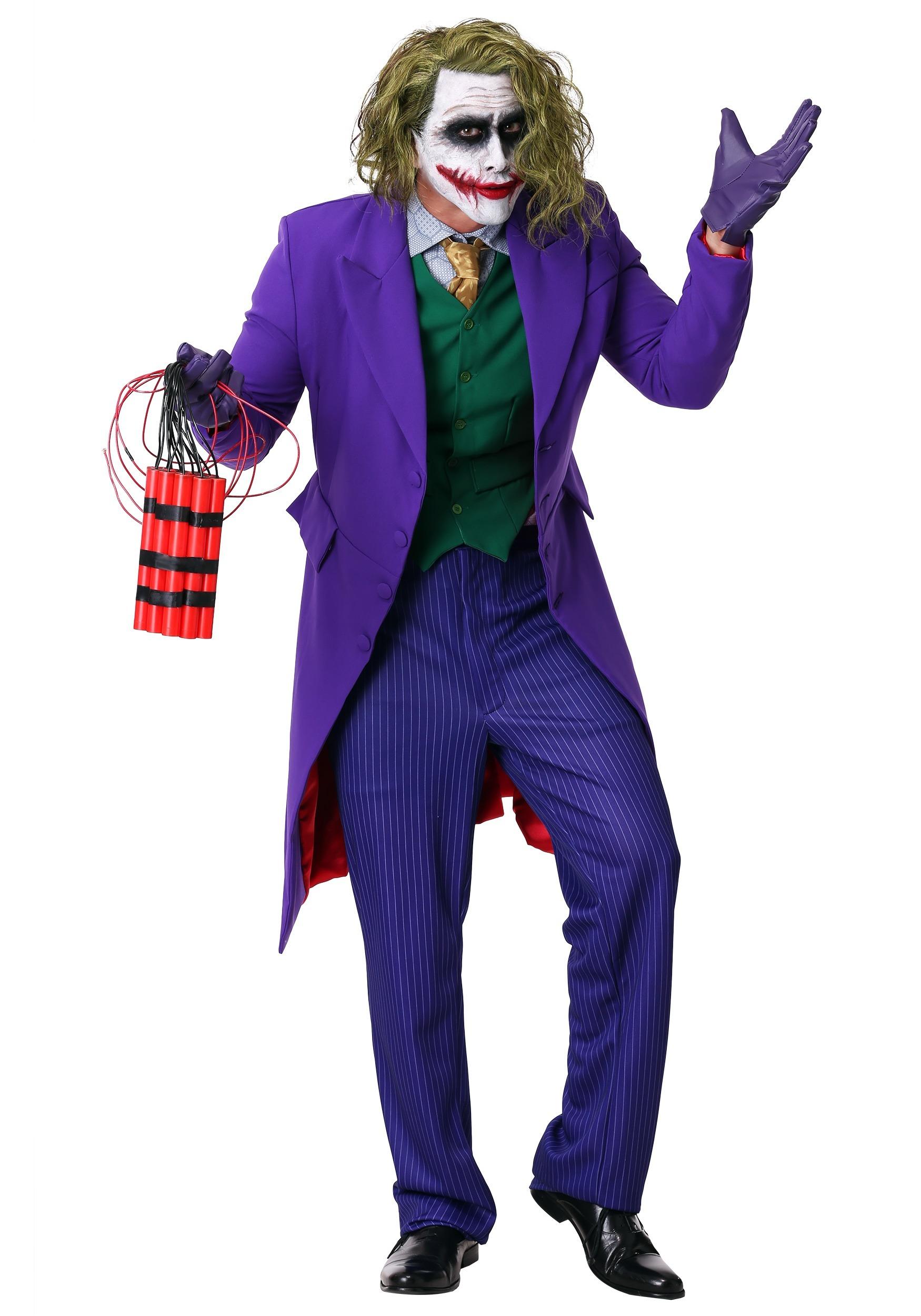 ultimate grand heritage joker costume. Black Bedroom Furniture Sets. Home Design Ideas