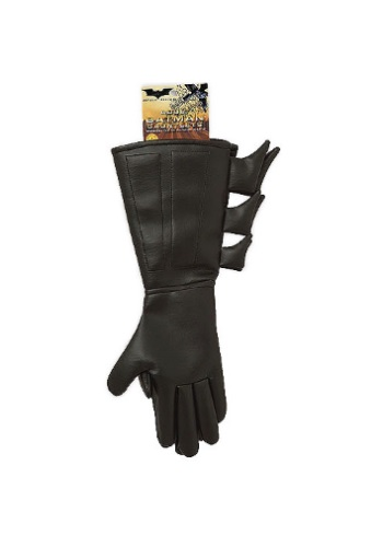 Childs Superhero Batman Gloves RU6679