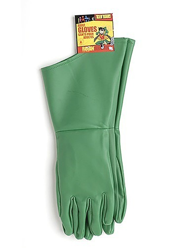 Adult Robin Green Costume Gloves