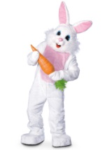 Mascot Easter Bunny Adult Costume