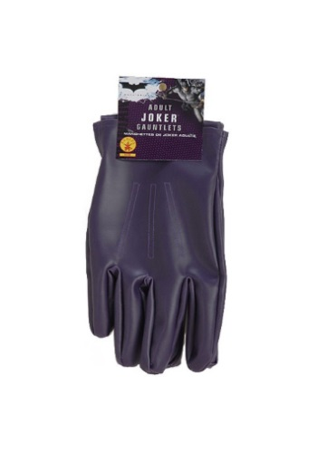 Adult Purple Joker Gloves RU8228