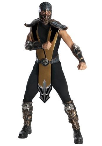 Scorpion Mortal Kombat Mens Costume-update2