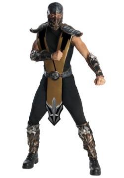 Scorpion Mortal Kombat Mens Costume