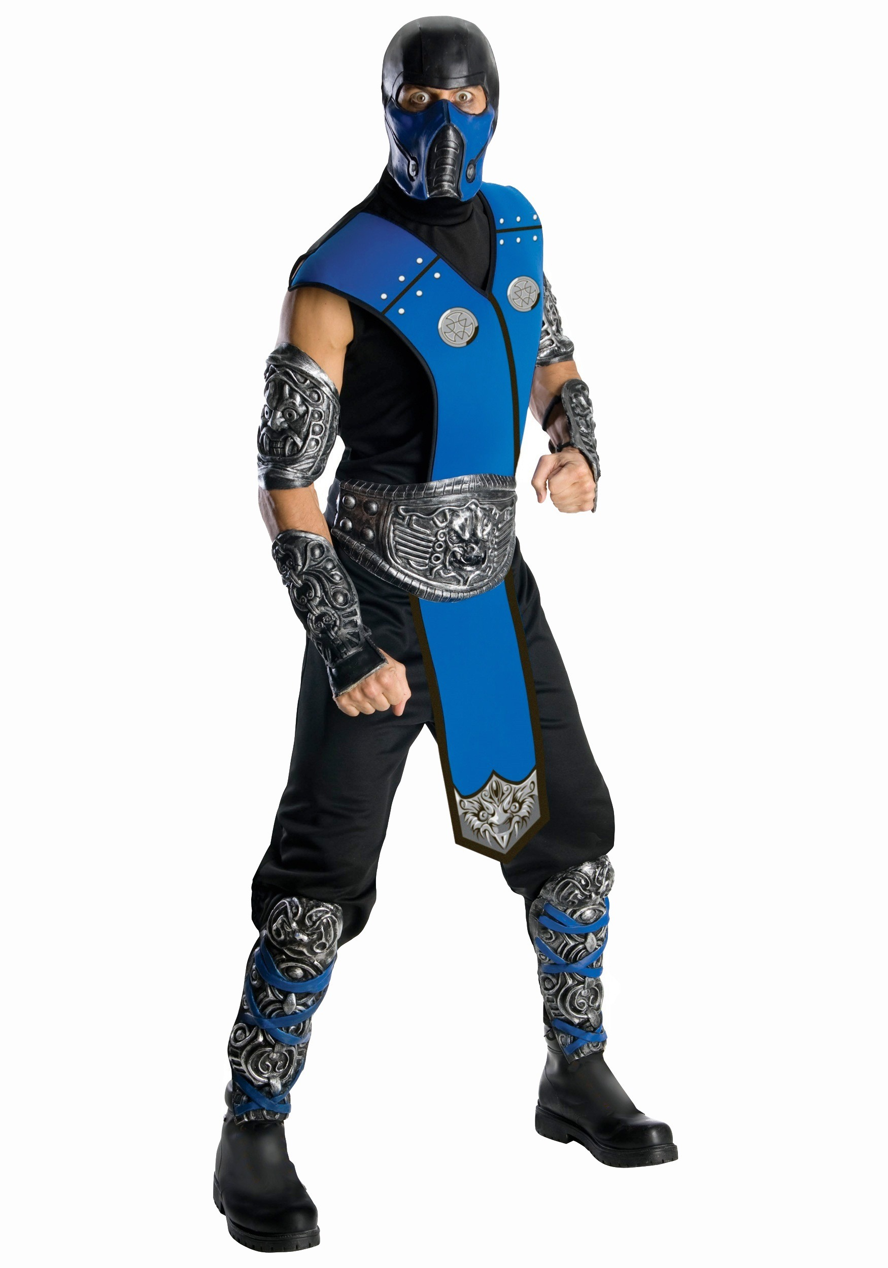 Men's Mortal Kombat Sub-Zero Costume RU880287